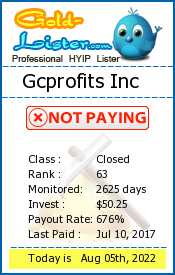 gold-lister.com - hyip gc profits inc