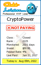 gold-lister.com - hyip crypto power