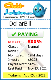gold-lister.com - hyip dollar bill