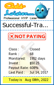 gold-lister.com - hyip successful traders