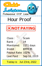 Hour Proof Monitoring details on gold-lister.com