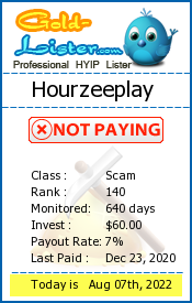 Hourzeeplay Monitoring details on gold-lister.com