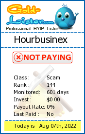 Hourbusinex Monitoring details on gold-lister.com