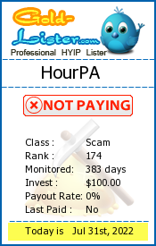 HourPA Monitoring details on gold-lister.com